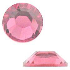 Swarovski Crystal Flatback SS12 Rose Color 3mm. Approx.144 PCS. 2058