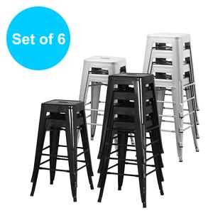 ... marais cafe bistro style counter bar stool metal.tolix,esque eBay