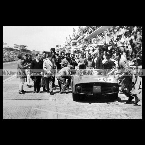 #pha.014880 Photo FERRARI 275 GUICHET-VACCARELLA 24 HEURES DU MANS 1964 Car Auto