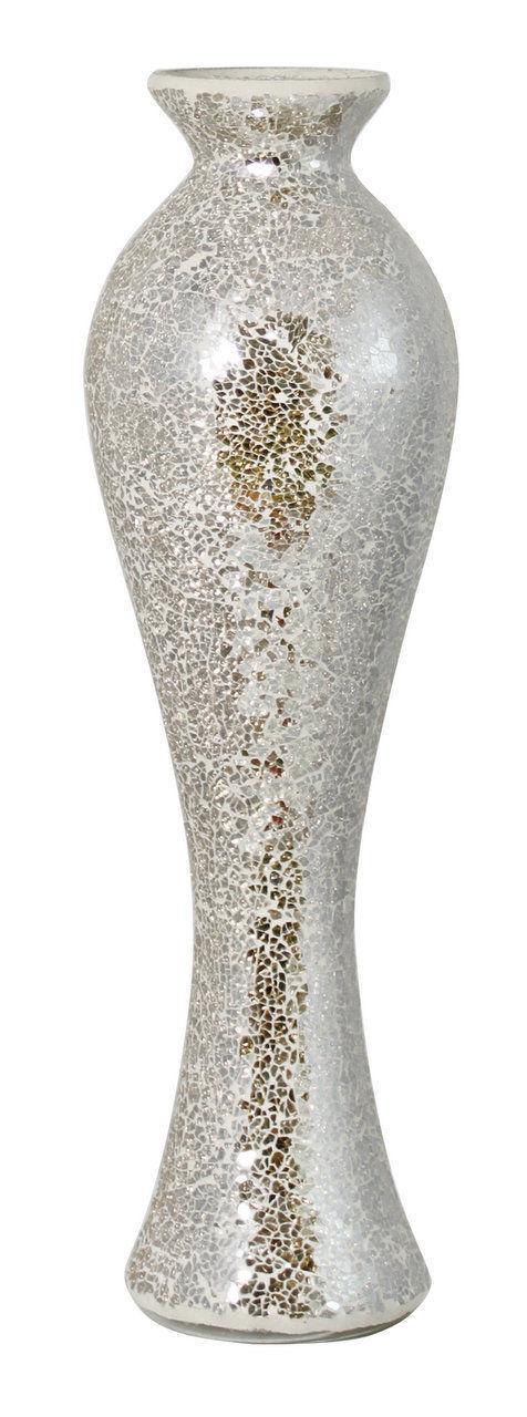 SPLENDIDA extra alto MERCURIO Sparkle mosaico VASO 66 cm di altezza