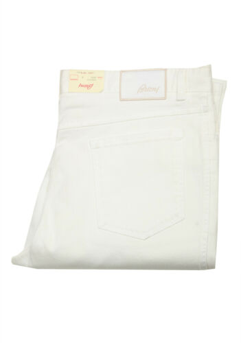 New Brioni White Jeans Trousers Size 56 40 U.S Pants