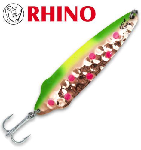 Kunstköder zum Schleppangeln Rhino Freddi Flutter Trollingblinker lollipop
