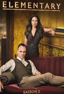 COFFRET DVD SERIE : ELEMENTARY - SAISON 3 INTEGRALE : DETECTIVE SHERLOCK HOLMES