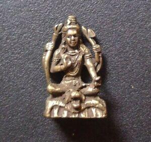 Shiva, Lord of Yoga - mini statue (India)