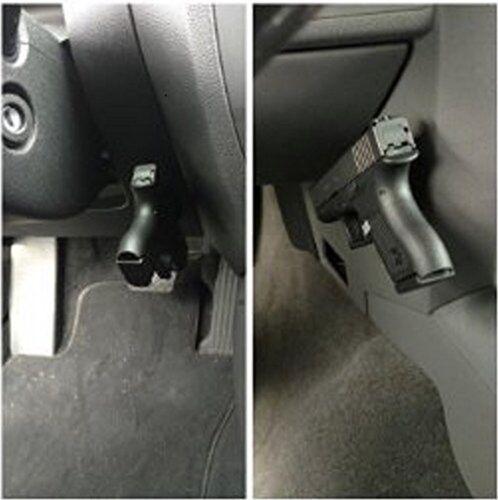 Magnet Concealed Gun Pistol Holder Holster under motor car desk bed door GTC