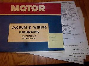19751976 CHEVY NOVA ELECTRICAL WIRING DIAGRAMVACUUM CIRCUIT - 1976 Chevy Nova Wiring Diagram