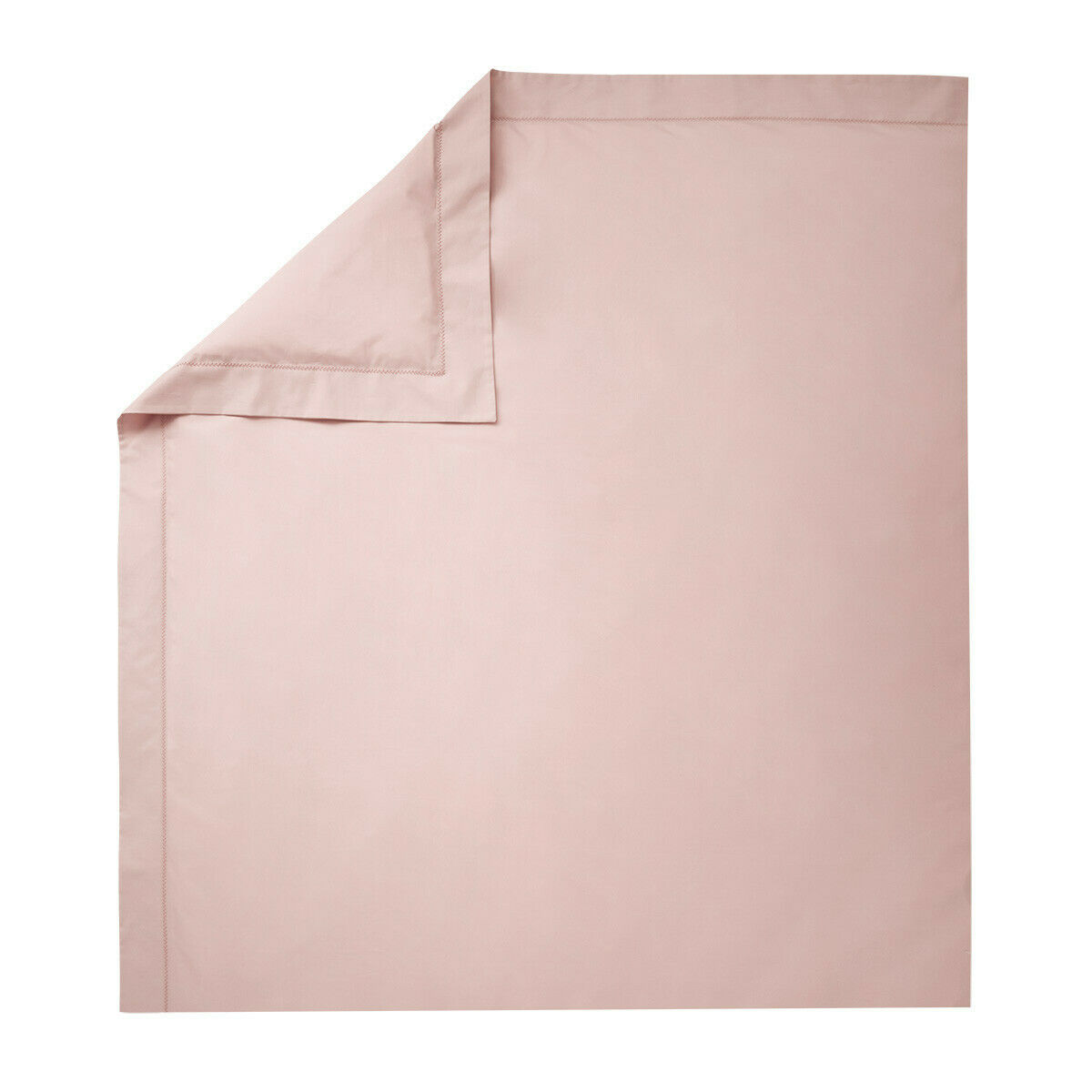 FRANCE YVES DELORME ROMA COTTON PERCALE DUVET COVER IN THE,Weiß,NACRE Farbe