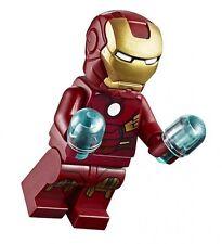 LEGO IRON MAN MINIFIGURE AUTHENTIC Marvel Super Heroes NEW 10721
