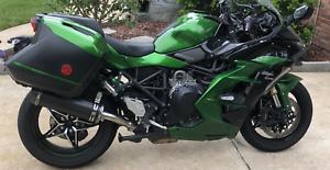 Kawasaki Ninja H2 Sx Se 2018 Performance Carbon Motorbike