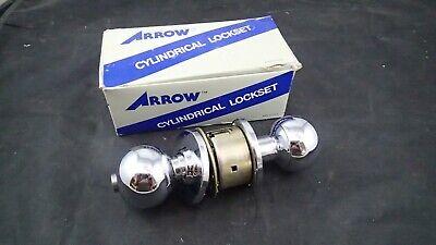 Ausdauernd Arrow Lock Zylindrisch Lockset Einzeln Zylinder Ta Chrom Druckknopf Schloss Kaufe Jetzt