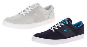 Puma-Men-039-s-El-Ace-4-TXT-Fashion-Sneaker-Shoes-Gray-amp-Blue