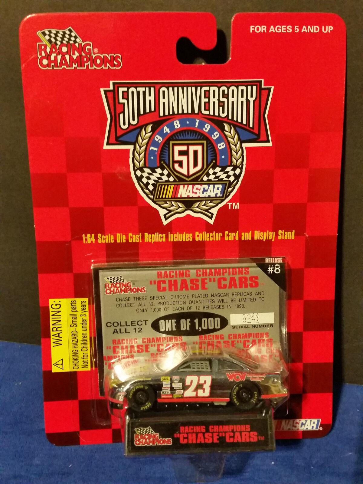tomamos a los clientes como nuestro dios 1998 Racing Champions    persecución  coches 241 de 1,000   23 Lance Hooper Wcw Release   8  ahorra hasta un 70%