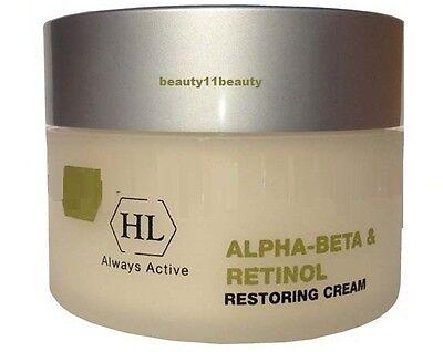 Holy Land Alpha-Beta & Retinol Restoring Cream 250 ml+  samples