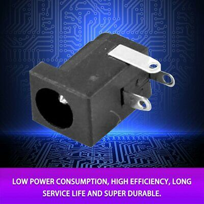 50Pcs Dc Power Jack Supply Socket DC-005 2.0MM Female Pcb Charger Power Plug un