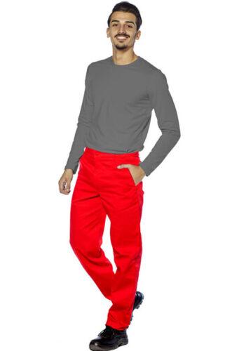 Pantaloni pantalone da lavoro estivi uomo donna leggeri misto cotone abiti lungo