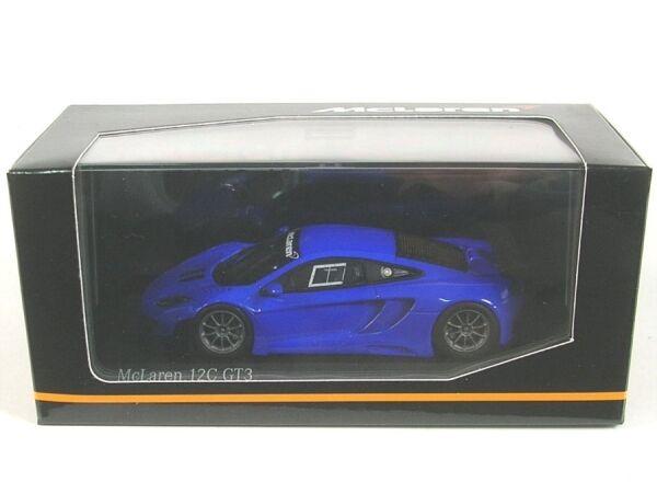 McLaren mp4-12c gt3 street (bleu) 2012