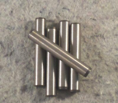 "1//4/"" x 3//8/"" Dowel Pin Hardened And Ground Alloy Steel Bright Finish"