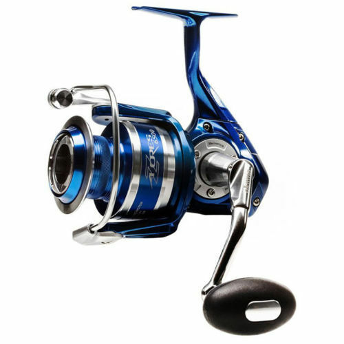 Okuma AZORES 5500 blueE Spin Reel 6BB +  1RB 5.8 1 Brand New in Box + Warranty  world famous sale online