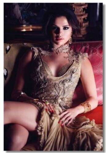 Poster Selena Gomez Pop Singer Star Room Club Art Wall Cloth Print 520