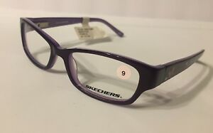 a1930fa450 Skechers Youth Girls Eyeglass Frames SK 1585 Purple 47-15-130 New ...