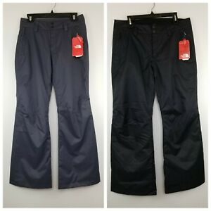 NWT-The-North-Face-Sally-Ski-Snowboarding-Pants-Women-039-s-S-M-L-Gray-Black-99
