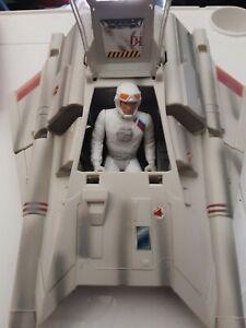 KENNER-1997-Star-Wars-EMPIRE-STRIKES-BACK-SNOW-SPEEDER-w-pilot-rare