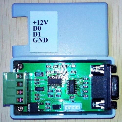 16hex) Converter//WG26//34 232//serial Wiegand//COM port//Bidirectional transmission