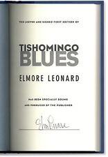 Tishomingo Blues - Signed by Elmore Leonard - First Edition HC