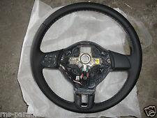 VW POLO 6R LEDERLENKRAD LENKRAD MULTIFUNKTION 6R0419091F ZRP GRAUE NAHT NEU !!!!