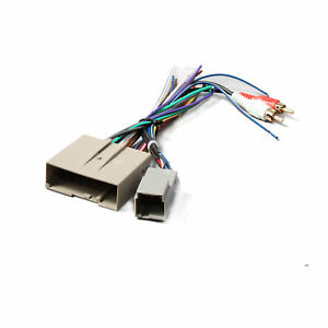 Aftermarket Stereo Radio Wiring Harness Adapter Plug Fits Ford F-150  Explorer | eBayeBay