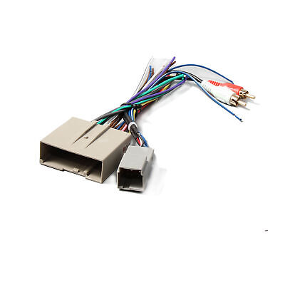 aftermarket stereo radio wiring harness adapter plug fits. Black Bedroom Furniture Sets. Home Design Ideas