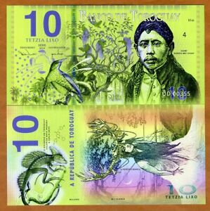 Toroguay-10-Lixo-2019-POLYMER-Limited-Private-Issue-UNC