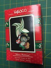 Enesco Christmas Ornament Merry Mailman 1990 2nd In Dear Santa Series