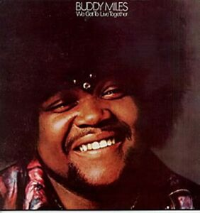 BUDDY-MILES-EXPRESS-We-Got-To-Live-Together-1970-UK-VINYL-LP-Excellent-Condition