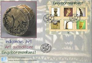 Nazioni UNITE 2006 Indigeni Arte O/S PRIMO GIORNO DI COPERTURA Vienna SHS