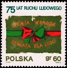 Polska Poland 1970 Fi 1859 Mi 2006 MNH 75-lecie Ruchu Ludowego w Polsce