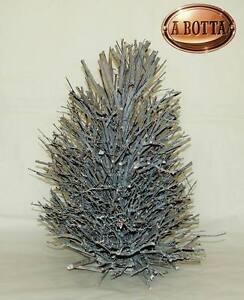 Albero Alberello di Natale con Rametti di Legno per Decorazione H 53 D38