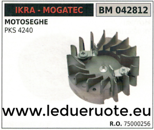 75000256 VOLANTE MAGNÉTICO imán ventilador MOTOSIERRA IKRA MOGATEC PKS 4240