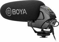 BOYA Super Cardioid Directional On Camera Shotgun Microphone Semi-Pro