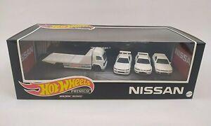 2021 HOT WHEELS Premium Nissan Box Set Skyline GTR BNR32 BCNR 33 BNR34 Retro Rig