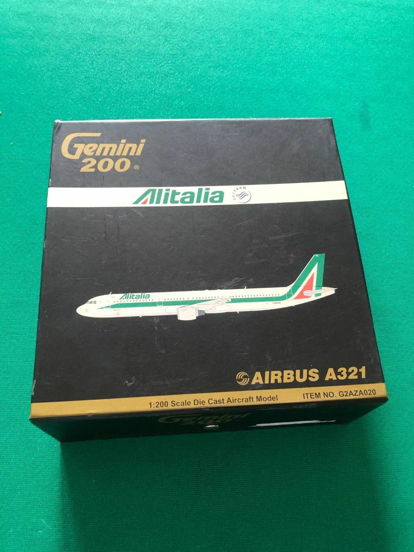1200 Alitalia AIRautobus A321  GEMINI  nuovo, scatola, rare