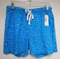 Great Northwest Indigo Sleepwear 30 Waist Women's L Blue Shorts