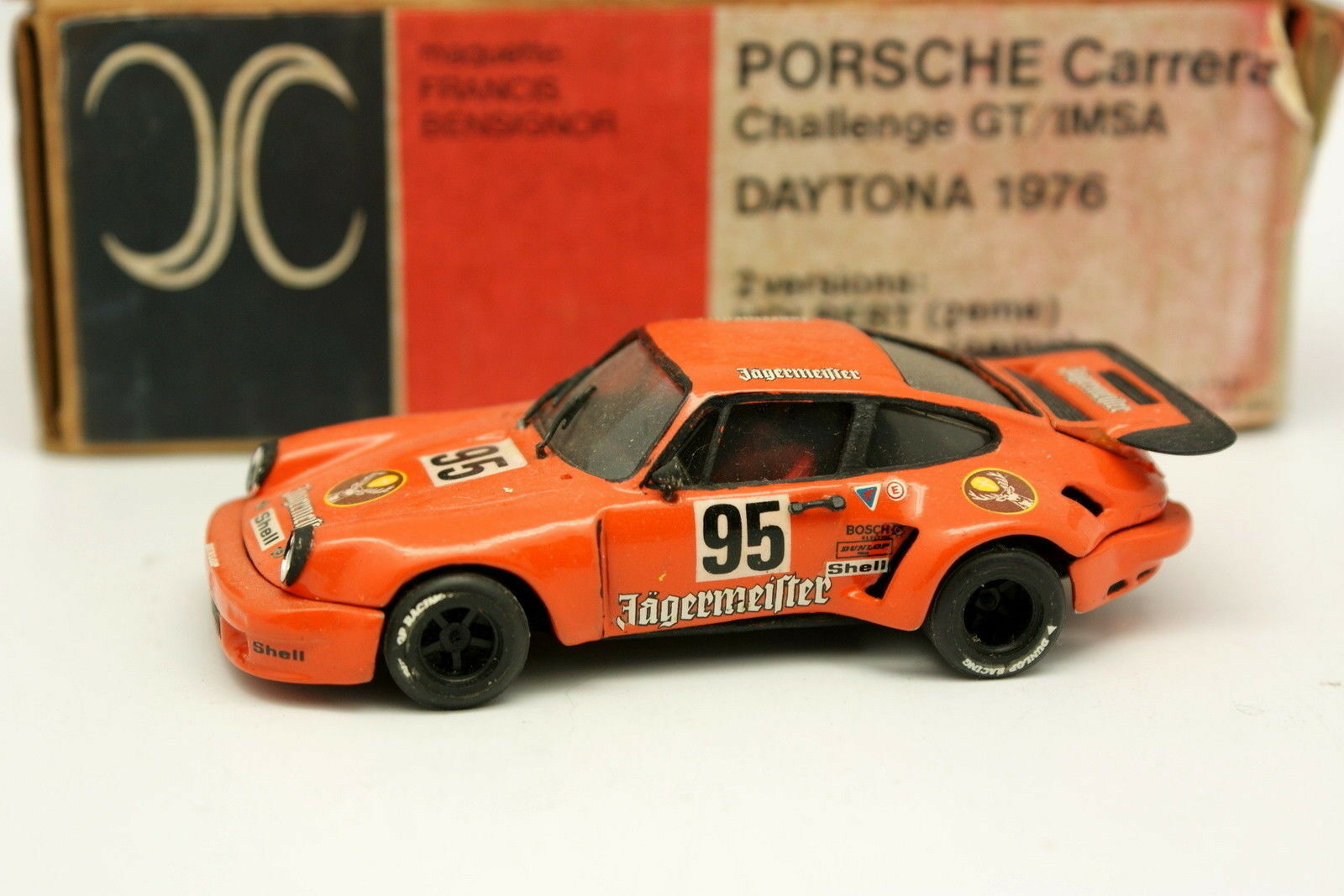 AMR 1/43 - Porsche 911 RSR 3.0 Jagermeister N 95 Daytona 1976