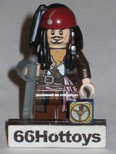 LEGO Pirates of the Caribbean 4184 Jack Sparrow Mini Figure NEW