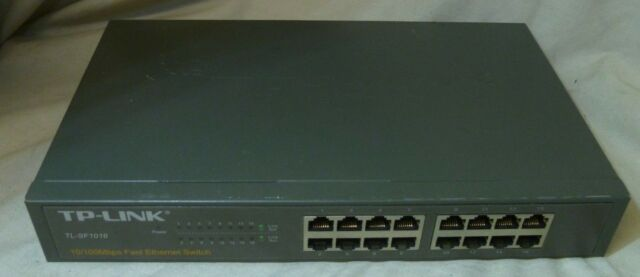TP-LINK TL-SF1016 16-port 10/100M commutateur Fast Ethernet
