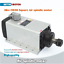 ES-3KW-ER20-220V-Square-Air-Cooled-Spindle-Motor-4KW-Inverter-VFD-Collets-CNC miniatura 2