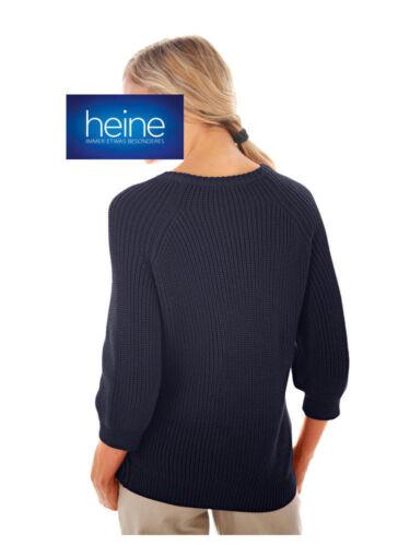 Tresse-Pull Heine Neuf!! Bleu KP 49,90 € SOLDES/%/%