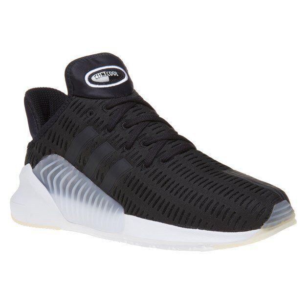 Nouveau homme Adidas Noir ClimaCool Nylon Baskets Style de course à lacets-