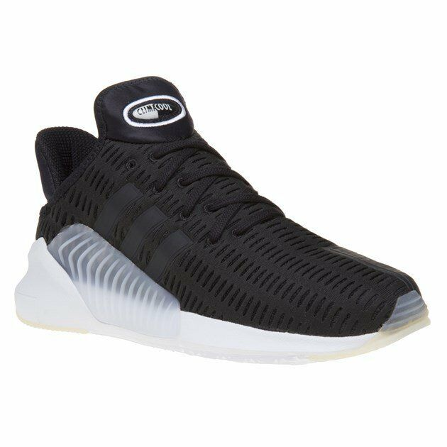 New Mens adidas Black Climacool Nylon Trainers Running Style Lace Up
