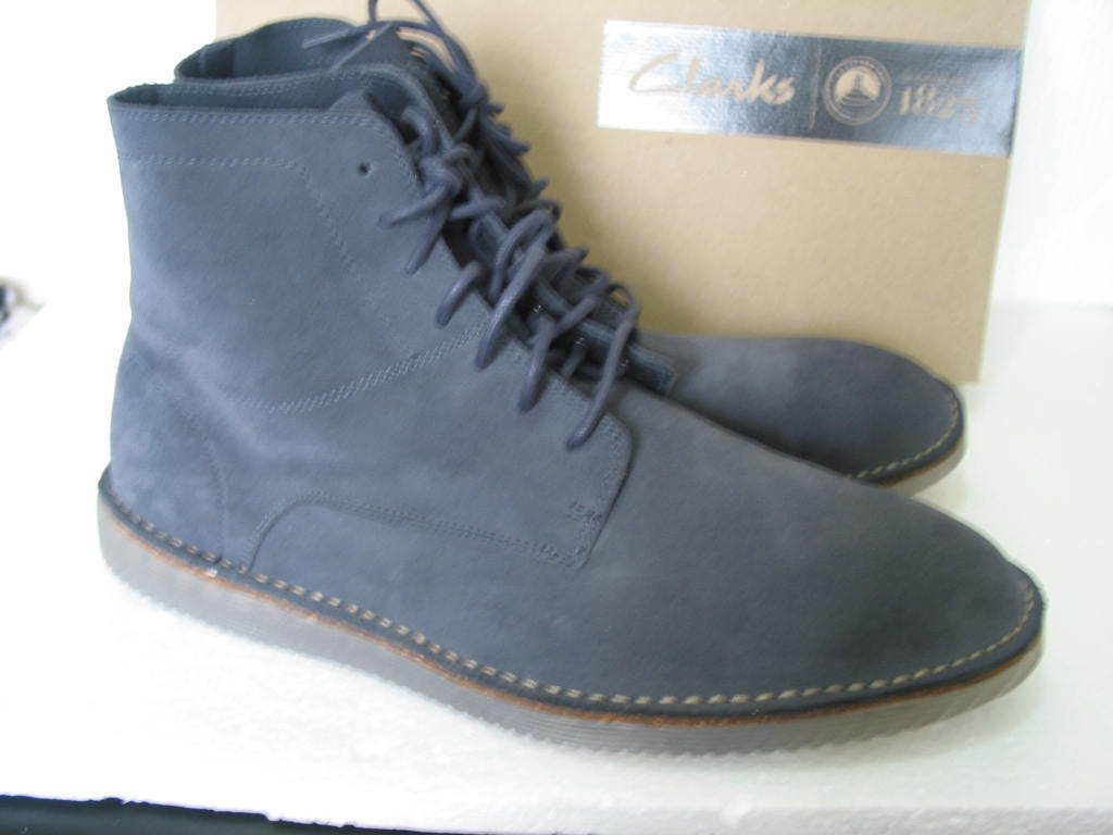 NEW MENS SUEDE CLARKS DARNING TOP SOFT SUEDE MENS  DESERT STYLE BOOTS VARIOUS SIZES 379e0c